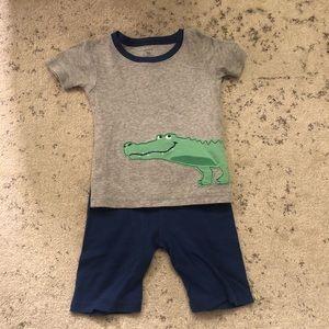 Carter's Alligator Pajamas